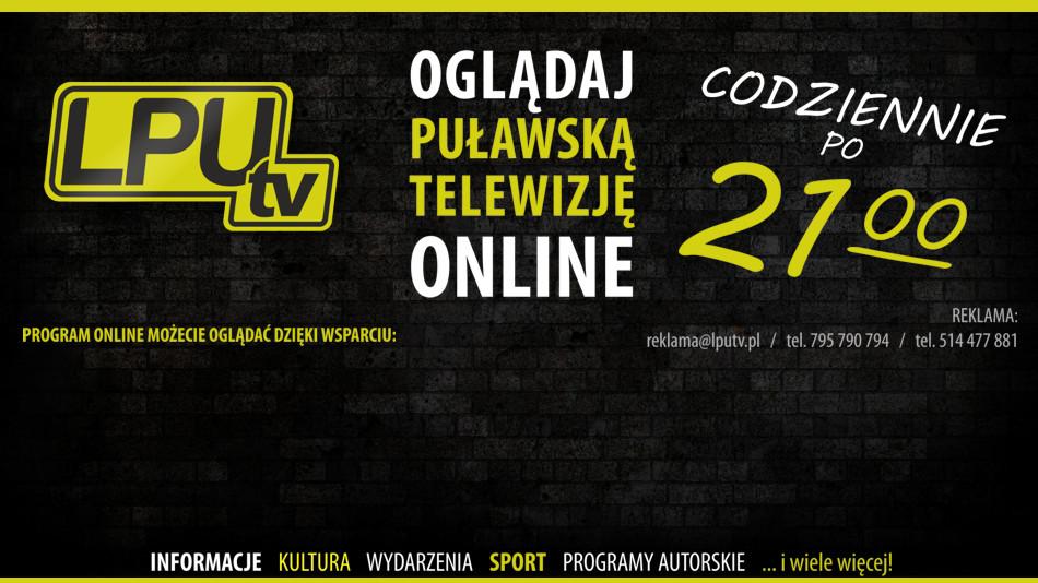 O dziś Puławska Telewizja również online!